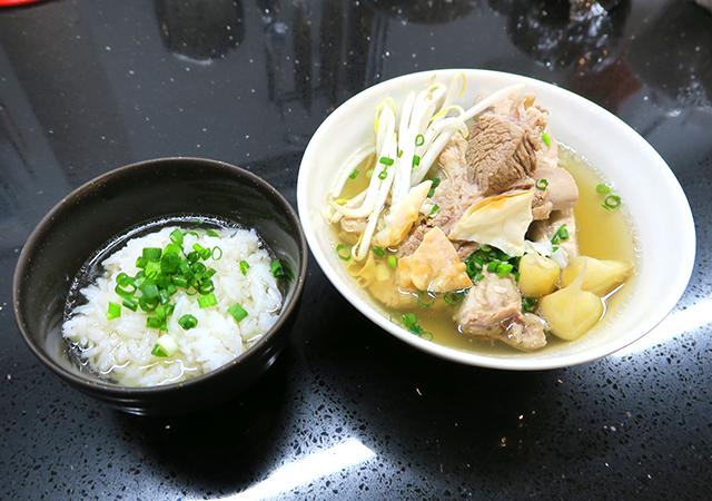 肉骨茶+ご飯セット